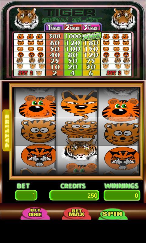Tiger Spin Slot 4 تصوير الشاشة