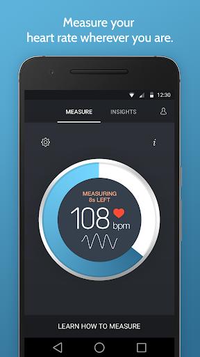 رصد معدل ضربات القلب الفورية 1 تصوير الشاشة