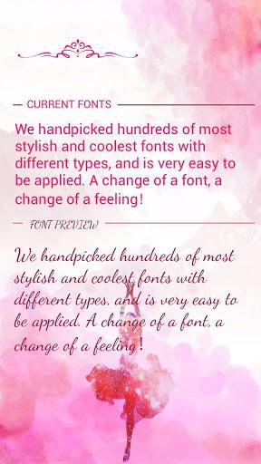 Dancing Script Font for FlipFont , Cool Fonts Text screenshot 1