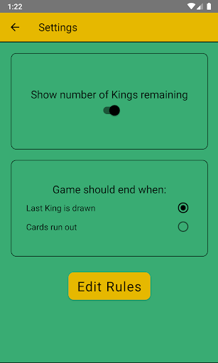 Kings Cup Drinking Game screenshot 5