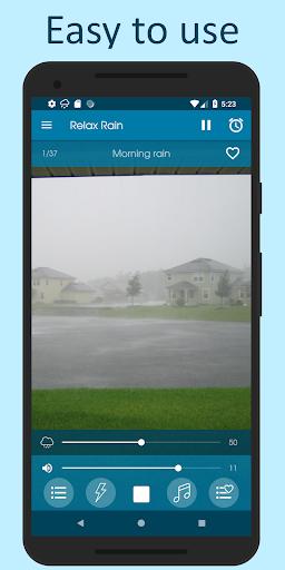 الاصوات من المطر 1 تصوير الشاشة