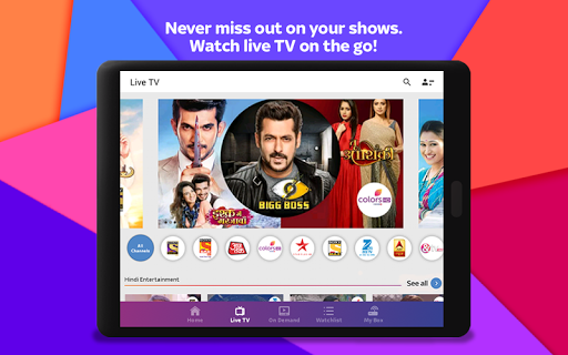 Tata Sky Mobile- Live TV, Movies, Sports, Recharge 20 تصوير الشاشة