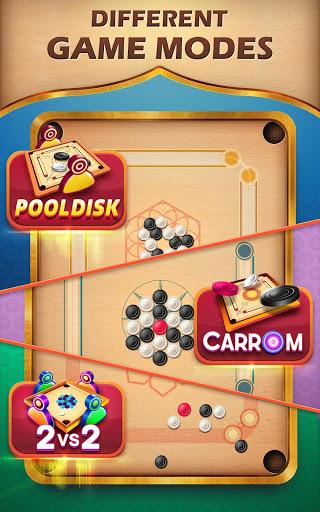 Carrom Friends : Carrom Board & Pool Game 2 تصوير الشاشة
