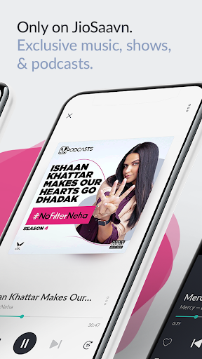 JioSaavn Music & Radio – JioTunes, Podcasts, Songs скриншот 3