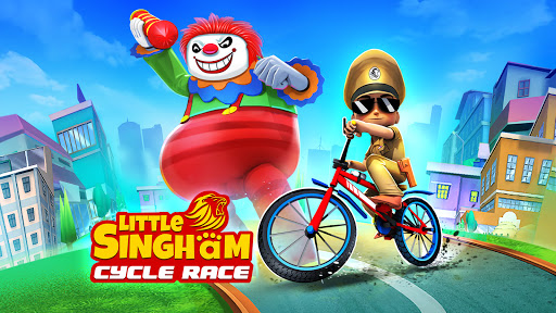 Little Singham Cycle Race screenshot 8