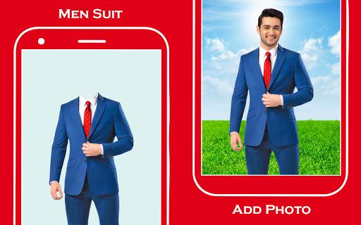 Men suit photo editor 1 تصوير الشاشة