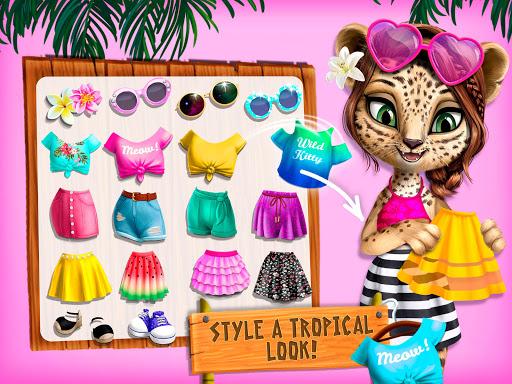 Jungle Animal Hair Salon 2 - Tropical Beauty Salon स्क्रीनशॉट 13