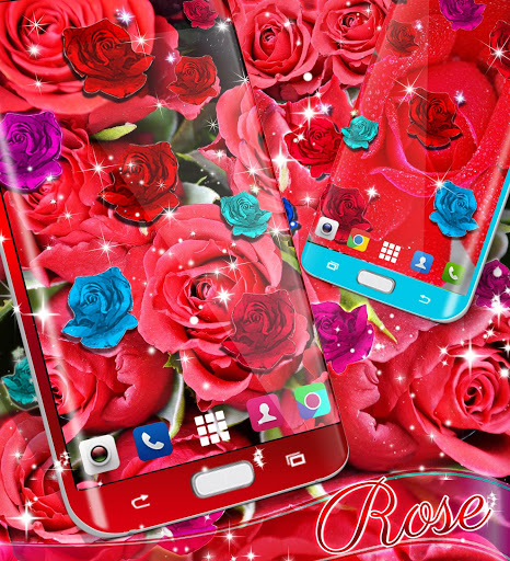 Best rose live wallpaper 2021 скриншот 5