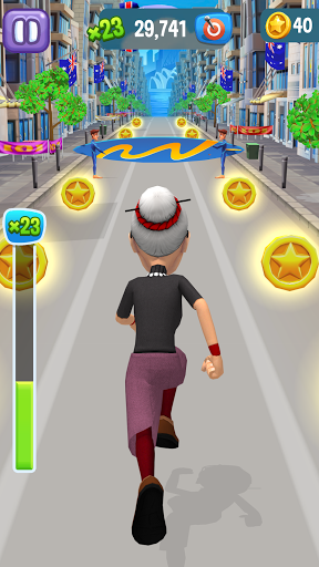 Angry Gran Run - Running Game скриншот 8
