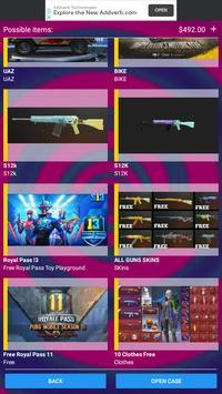Free Pubg Mobile Uc Cash and Skins screenshot 6
