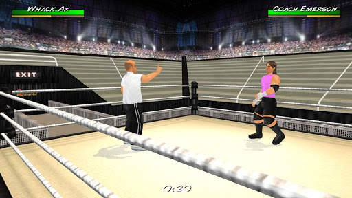 Wrestling Revolution 3D screenshot 22