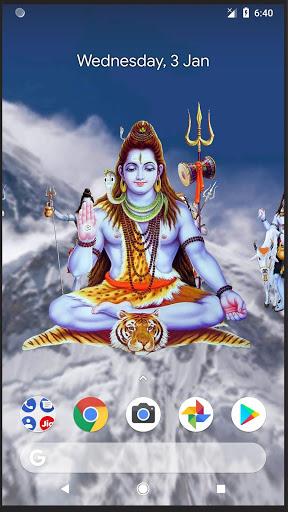 4D Shiva Live Wallpaper 4 تصوير الشاشة