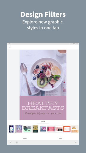 Adobe Spark Post: Graphic Design & Story Templates 13 تصوير الشاشة