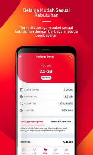 MyTelkomsel - Beli Pulsa/Paket & dapat kuota 7.5GB screenshot 4