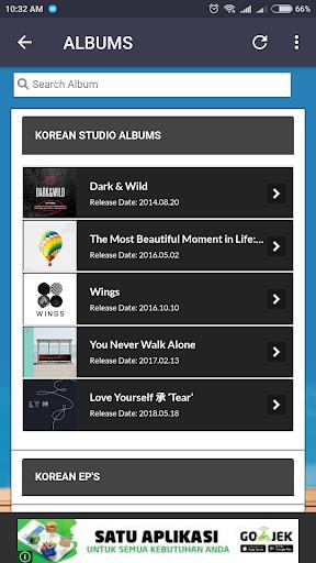 BTS Lyrics (Offline) screenshot 3