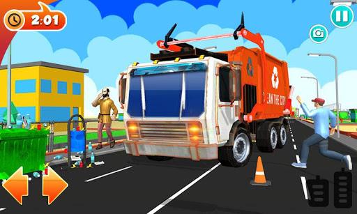 Urban Garbage Truck Driving - Waste Transporter screenshot 7