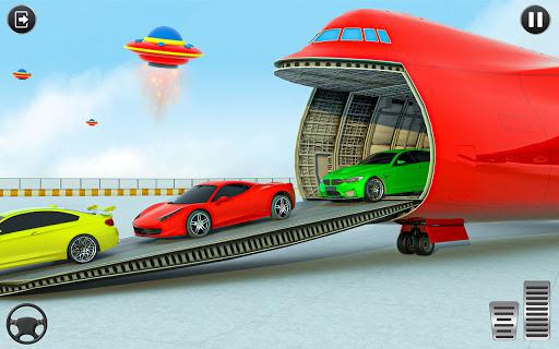 Crazy Car Transport Truck:New Offroad Driving Game screenshot 2