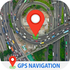 GPS Navigation Live Satellite View Earth Maps icon