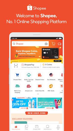 Shopee #1 Online Platform screenshot 1