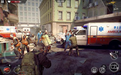 Left to Survive: Apocalypse & Dead Zombie Shooter screenshot 8