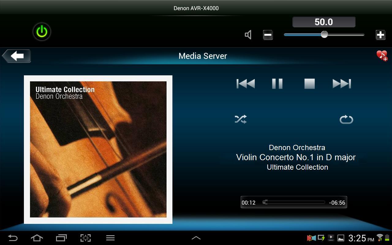 Denon Remote App screenshot 7