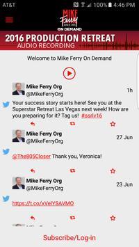 Mike Ferry On Demand screenshot 1