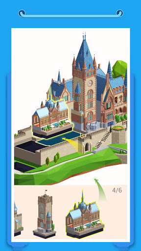 Pocket World 3D - Assemble models unique puzzle screenshot 2