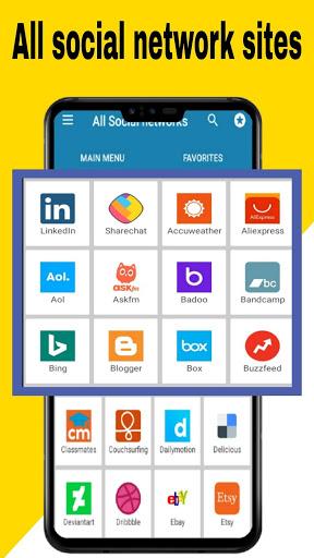All social media apps 2020 5 تصوير الشاشة