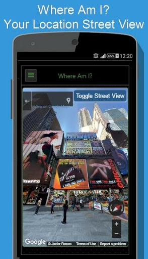 Regency Compass GPS & Speedometer Street View screenshot 4