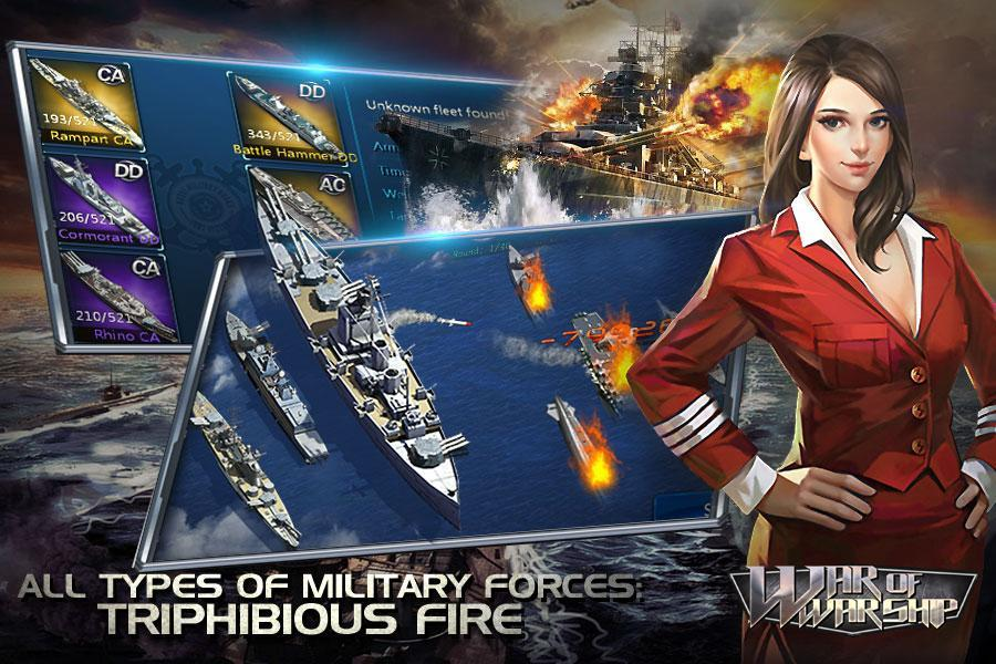 War of Warship screenshot 2
