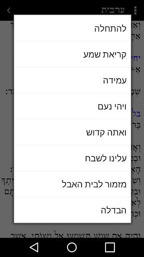 Tfilon - A free smart Siddur screenshot 3