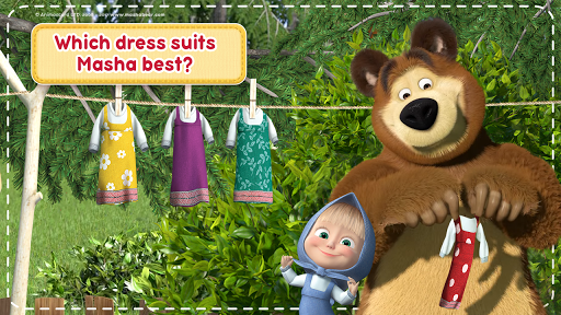 Masha and the Bear: House Cleaning Games for Girls screenshot 7