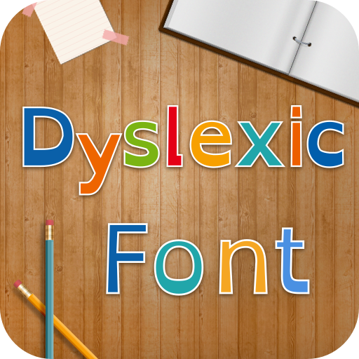 Dyslexic Font for FlipFont , Cool Fonts Text Free icon