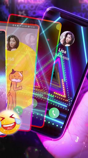 Neon Messenger for SMS - Emojis, original stickers screenshot 4