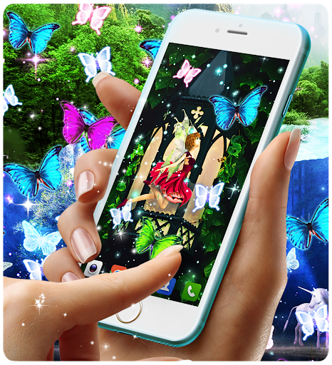 Magical forest live wallpaper screenshot 5
