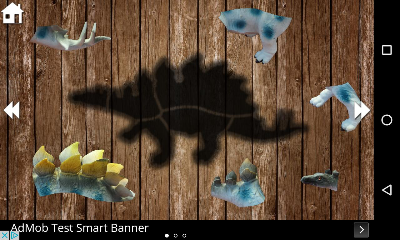 Dino Puzzle 2 تصوير الشاشة