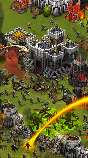 Throne Rush 3 تصوير الشاشة
