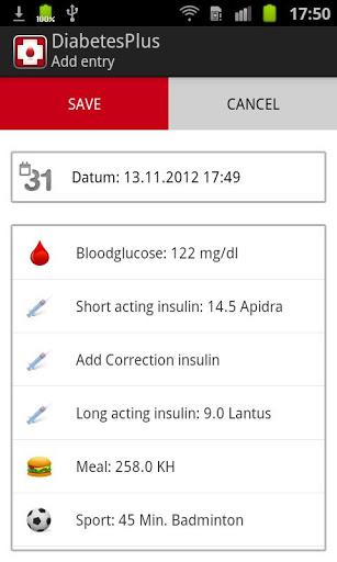 Diabetes Plus 2 تصوير الشاشة