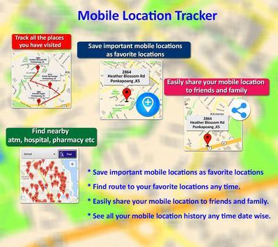 Mobile Location Tracker 2020 10 تصوير الشاشة