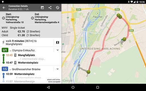 Offi - Journey Planner 10 تصوير الشاشة