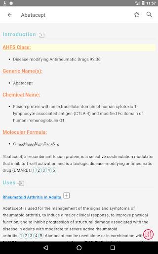 AHFS Drug Information (2020) 10 تصوير الشاشة