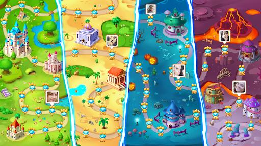 أسطورة الجواهر - المباراة 3 اللغز 6 تصوير الشاشة