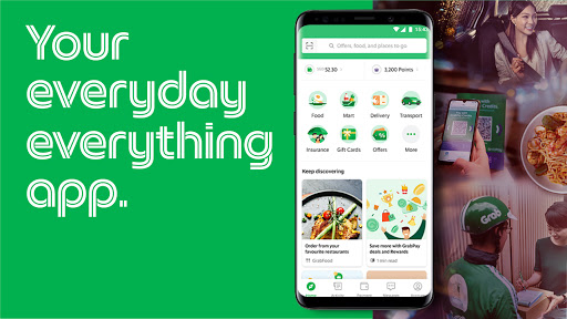 Grab - Transport, Food Delivery, Payments скриншот 1