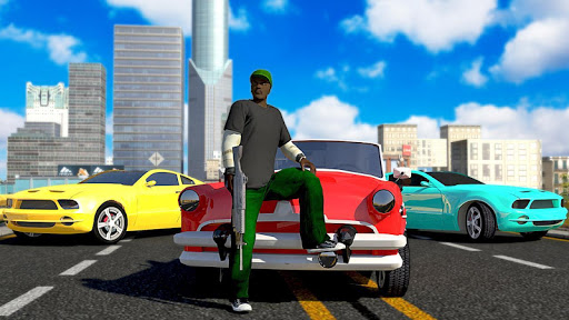 Real Gangsters Auto Theft-Free Gangster Games 2021 9 تصوير الشاشة