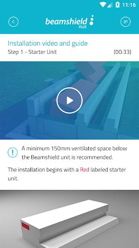Beamshield installation guide screenshot 4