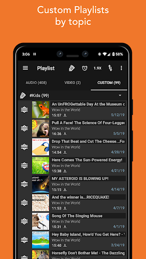 Podcast Addict 6 تصوير الشاشة
