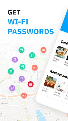 WiFi passwords and Free WiFi from Wiman screenshot 1