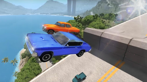 Chained Cars Against Ramp 3D screenshot 4