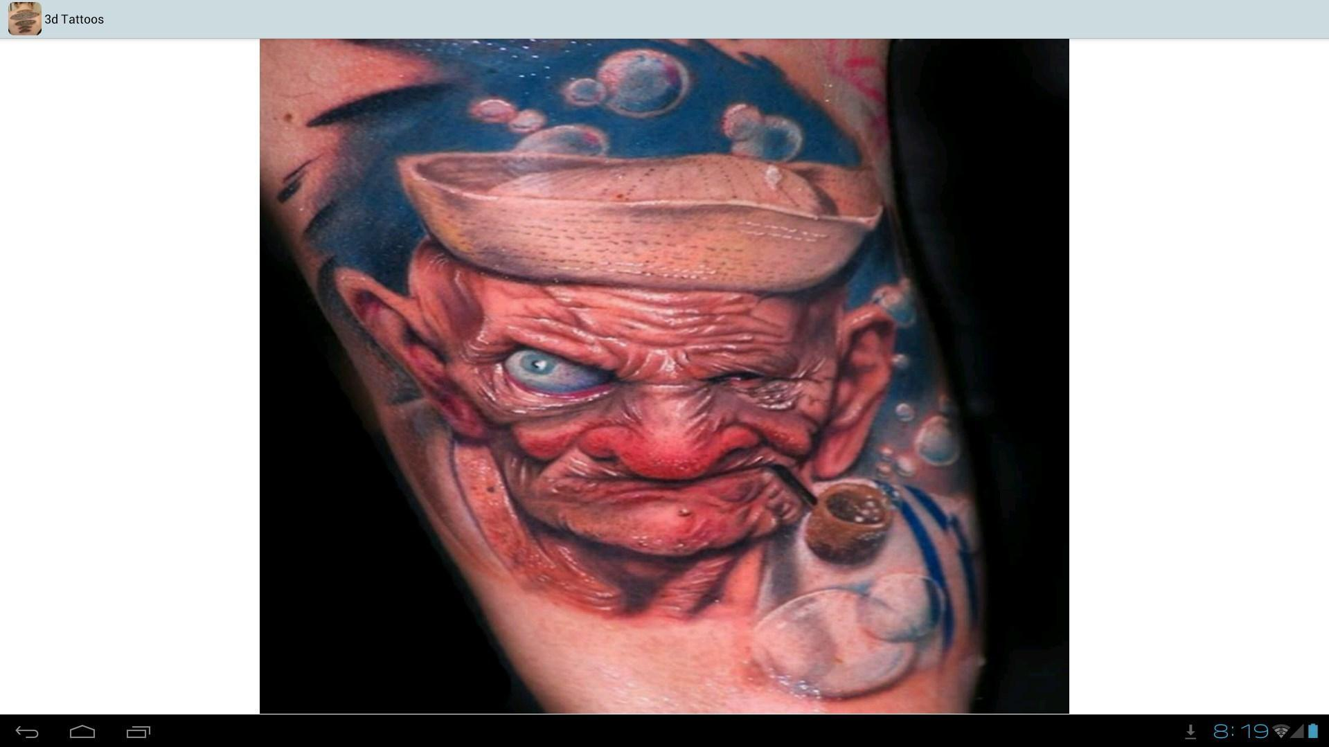 3d Tattoos Ideas 8 تصوير الشاشة