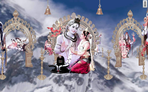 4D Shiv Parvati Live Wallpaper screenshot 9